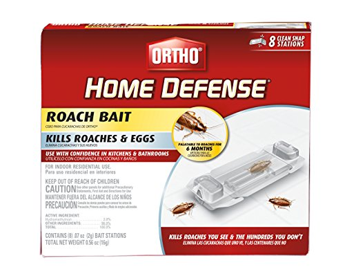 Ortho 0464912 Home Defense Roach Bait Station 8 Pk