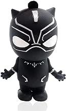 Novelty Black Panther Shape Design 16GB USB 2.0 Flash Drive Cute Memory Stick Stitch Thumb Drive Data Storage Pendrive Cartoon Jump Drive Gift