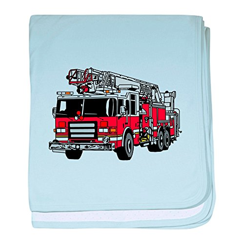 CafePress Fire Engine Red - Baby Blanket, Super Soft Newborn Swaddle