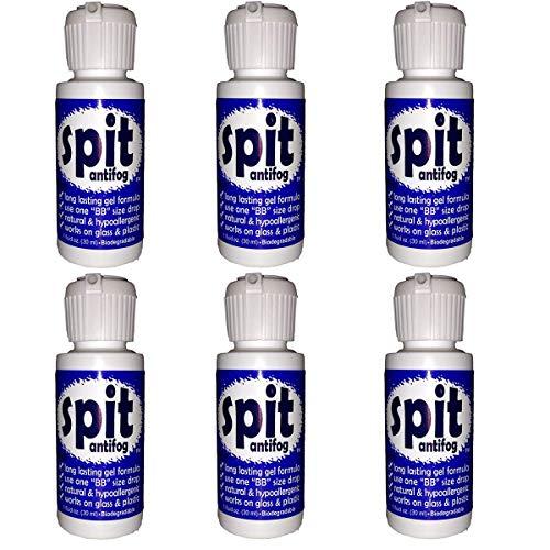Just Add Water Jaws 1 oz. Spit Antifog Lens Gel 6-Pack