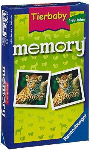 """Ravensburger 23013 6 """"Animal Baby"""" Memory Game"""