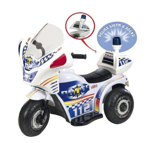 Moto de Police Electrique Enfant