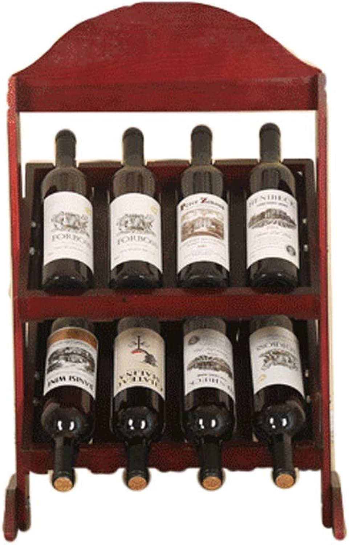 ventas en linea BJYG Estante de Vino Estante de Vino Vino Vino Rojo Estante de Madera sólida Estante de Vino Creativo Simple Estante de exhibición Moderno Moderno para Licor doméstico (Color  C)  Seleccione de las marcas más nuevas como