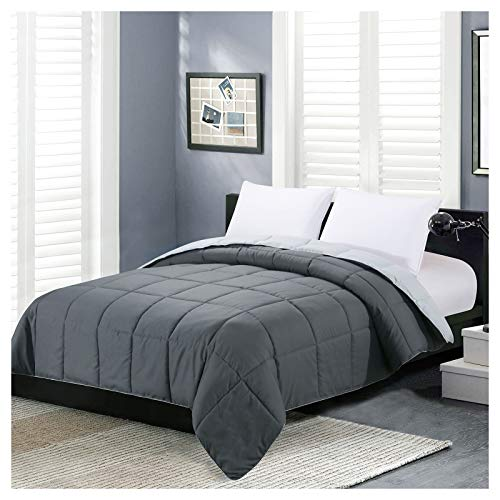 Homelike Moment Reversible Lightweight Comforter - All Season Down Alternative Comforter