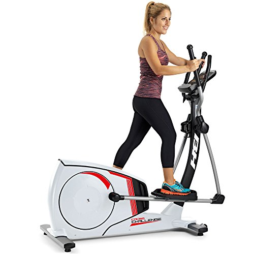 BH Fitness Cross Challenge G2381RF Crosstrainer - Ellipsentrainer - 14Kg Schwungrad - 43,5cm Schrittlänge