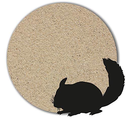 Müller GmbH 1 kg - 25 kg Chinchilla Sand Badesand hocherhitzt keimfrei samtweich beige (25 kg)