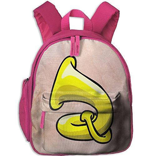 Unisex Baby Kid Tuba Pre School Backpack Bags Pink
