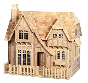 Greenleaf Glencroft Dollhouse Kit - 1 Inch Scale