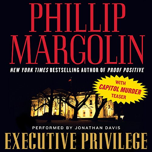 Executive Privilege  audiobook cover art