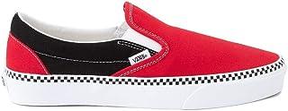 [バンズ] 靴・シューズ スニーカー Slip On Checkerboard Skate Shoe - Red/Black レッド/ブラック US Men's 10.5, Women's 12 (M 28.5, W 29) [並行輸入品]