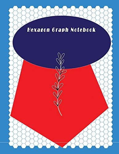 Hexagon Graph Notebook: Hexagon Paper (Small) 0.2 Inches Hexes Radius (8.5