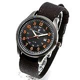 [Smith & Wesson]スミス&ウェッソン ミリタリー腕時計 CADET WATCH BLACK/ORANGE SWW-369-OR [正規品]