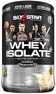 Six Star Professional Strength Whey Isolate Elite Series, French Vanilla Cream 1.5 lbs
