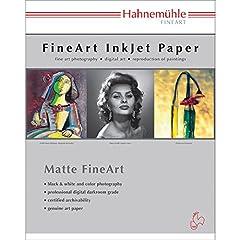 Hahnemuhle Photo Rag Deckle Edge Inkjet Paper - 13'' x 19'', 25 Sheets