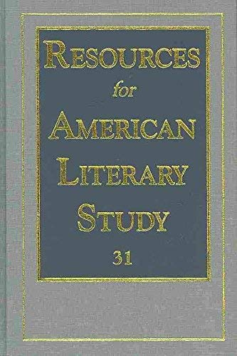 Price comparison product image Resources for American Literary Study: v. 31 (Resources for American Literary Study)