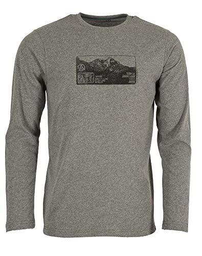 Ternua Camiseta Kharar T-Shirt M Hombre, Granite, S