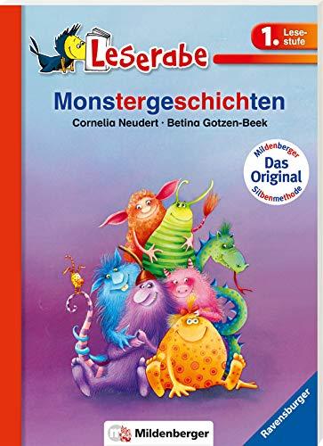 Leserabe mit Mildenberger Silbenmethode: Monstergeschichten