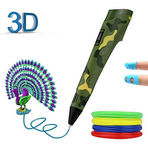 Graffiti pen voor kinderen, 3D, vakmanschap rond vulfilamenten, 1,75 mm, PLA/ABS
