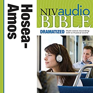 NIV Audio Bible: Hosea, Joel, and Amos (Dramatized) cover art