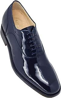 Masaltos Zapatos de Hombre con Alzas Que Aumentan Altura Hasta 7 cm. Fabricados EN Piel. Modelo Charol