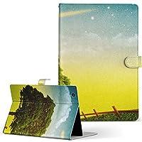 igcase QuatabPZ au LGT32 LGエレクトロニクス キュアタブ タブレット 手帳型 タブレットケース タブレットカバー カバー レザー ケース 手帳タイプ フリップ ダイアリー 二つ折り 直接貼り付けタイプ 002555 写真・風景 景色 風景 イラスト