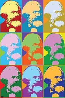 The Art Stop Painting Political Karl Marx BANKNOTE Design Communism Framed Print F97X4897