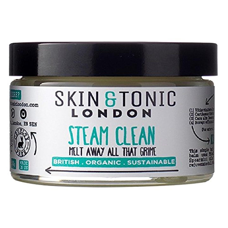 年齢こんにちは浸漬Skin & Tonic London Steam Clean 50g - スキン&トニックロンドン蒸気きれいな50グラム [並行輸入品]