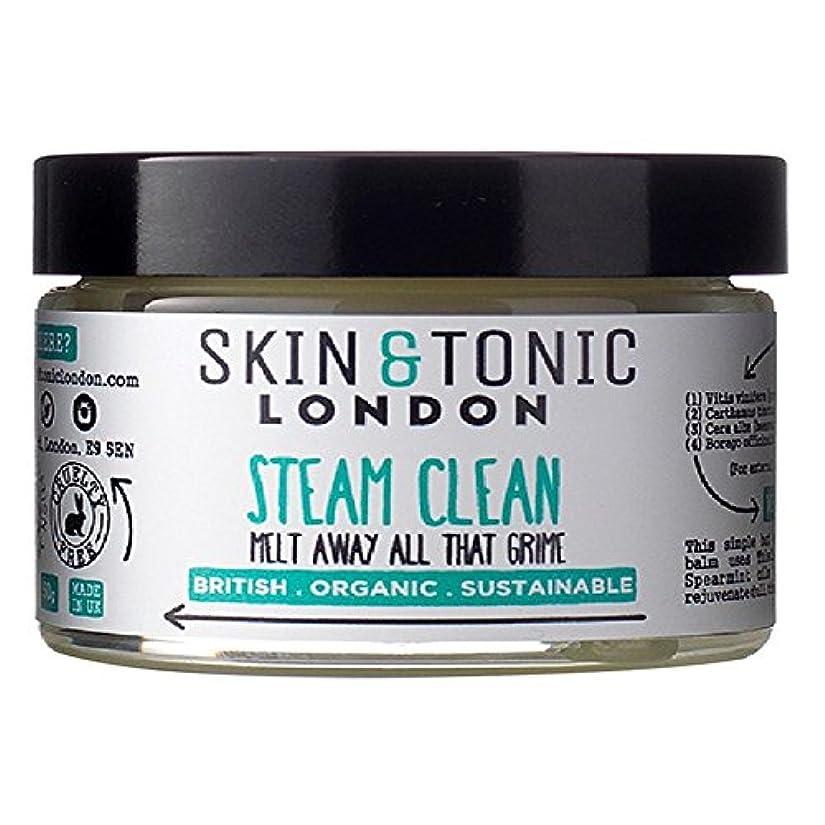 大陸バラエティ隙間Skin & Tonic London Steam Clean 50g - スキン&トニックロンドン蒸気きれいな50グラム [並行輸入品]