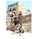Bombay Bicycle Club - Ibiza 2008 Poster Wall Art Canvas Painting Picture-50x75cm Sin marco