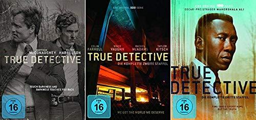 True Detective Staffel 1-3 (1+2+3, 1 bis 3) [DVD Set]