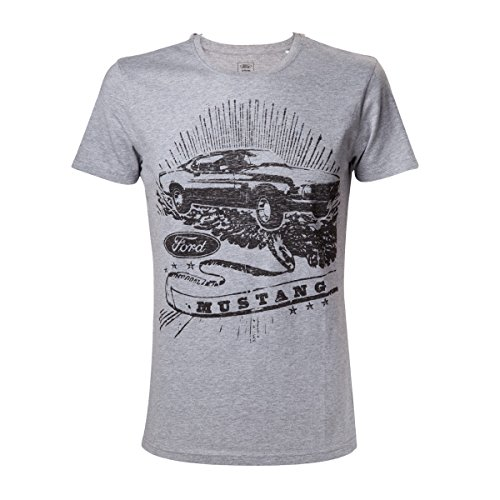 Ford Mustang Vintage Mustang T-shirt gris chiné L