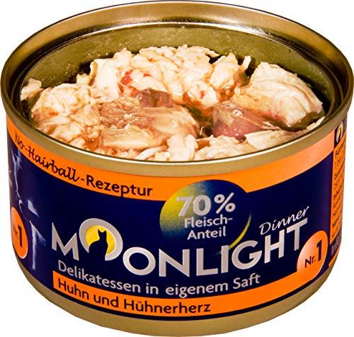 Moonlight-Dinner 24x Nr.:1 Huhn und Hühnerherz