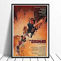 グーニーズ(1985)ヴィンテージクラシック映画ポスター家の装飾壁の装飾壁アートキャンバス絵画ナヴァスプリント50×70センチフレームなし