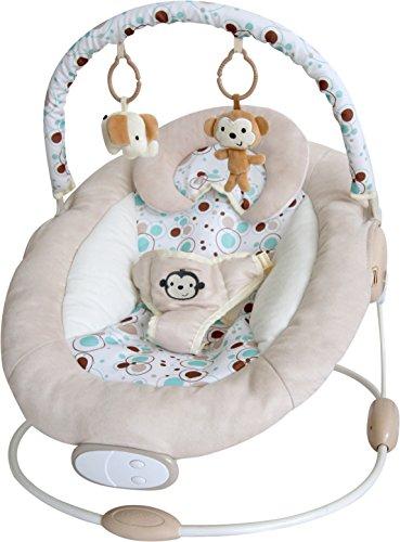 Bebe Style Sdraietta Culla oscillante per Bebè Modello Superior ComfiPlus con musica e vibrazioni per bambini (fino a 8 mesi/9 kg)