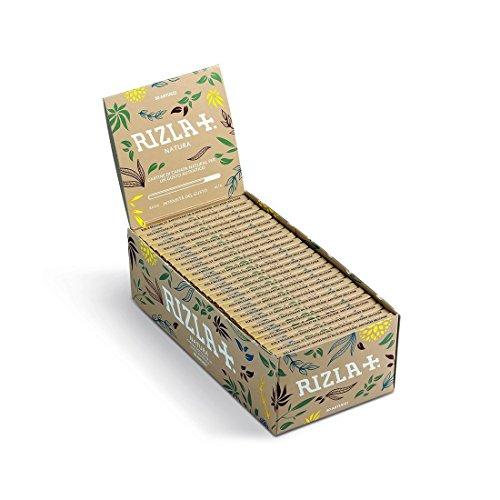 Trendz Rizla Natura Blättchen Standard, Reguläre Größe–Box mit 50Heftchen