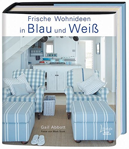 Frische Wohnideen in Blau und Weiß