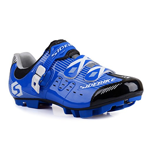 TXJ - Zapatillas de ciclismo de goma para mujer Varios Colores rojo/negro 40 Varios Colores Size: 40