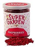 Supergarden Bayas y Frutas Liofilizadas. Piezas y Rodajas. (Frambuesas)