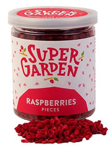 Supergarden Gefriergetrocknete Beeren und Früchte (Stücke und Scheiben) (Himbeerstücke)