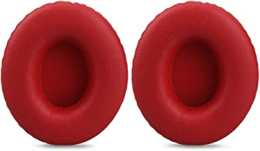 Earpad for Beats by Dr. Dre Solo HD On-Ear Headphone, Replacement Ear Pad/Ear Cushion/Ear Cups/Ear Cover/Earpads Repair Parts for Monster Beats by Dr.Dre Solo HD Headset,Red - coolthings.us