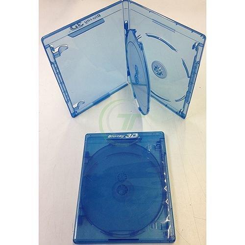 Elite BD Hülle, Hüllen blau für 3 Disc 12,5mm - Menge 10 Stück