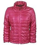 Aeropostale Womens Thin Small Channel Puffer Jacket Pink X-Small