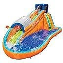 Banzai Surf Rider Kids Inflatable Outdoor Backyard Aqua Water Slide Splash Park