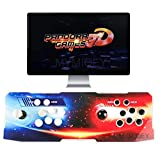 3D Pandora Games Arcade Console, 2448 Games Pre-loaded, Search/Save/Hide/Pause Games, WIFI Function to Add Extra Games, Support 3D Games, 1280x720 Full HD, Favorite List, Support Multiplayers Online