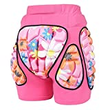 JMsDream 3D Padded Protection Hip EVA Short Pants Protective Gear for Kids & Adults Skating Riding Roller,...