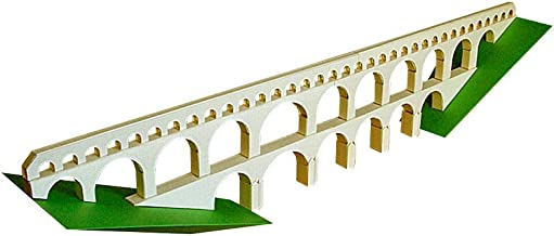 PaperLandmarks Pont du Gard Paper Model Kit
