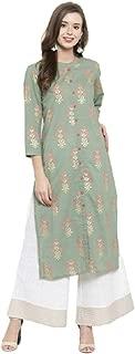 New Indian Outfits Ethnic 2 Piece Palazzo Pants Kurta Kurti Set for Women Dressy