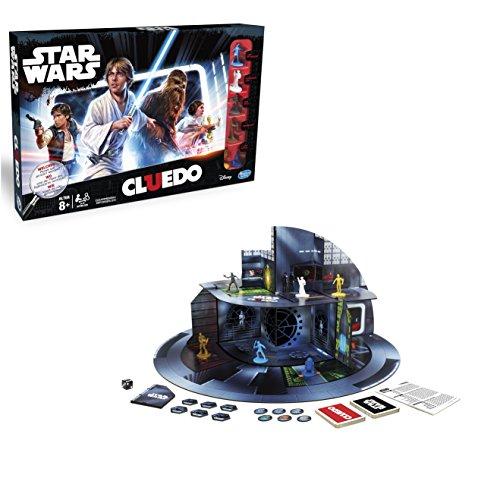 Hasbro Spiele B7688100 - Star Wars Cluedo, Familienspiel