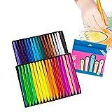 BASOYO 36 colores triángulo Crayones creativos lavables y no tóxicos niños pintura cera crayones