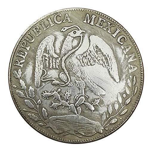 Xinmeitezhubao Moneda de Plata Colección del dólar de Plata, Mexican Eagle Ocean 1882, Moneda…